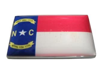 North Carolina Flag Pendant Magnet
