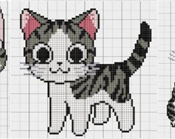 Chi's Cat Cross Stitch Collection