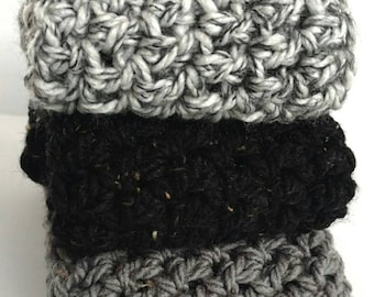 READY TO SHIP, Infinity Scarf, Handmade, Crocheted Scarf