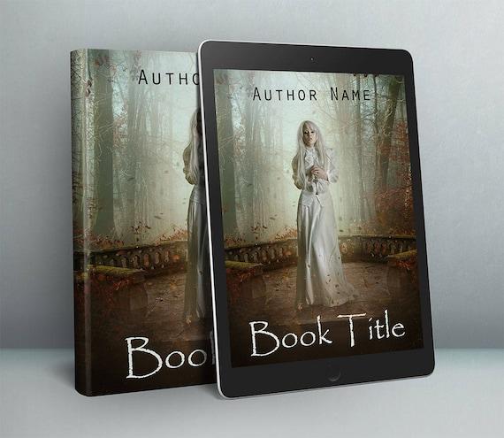 Premade Gothic fantasy cover design for authors