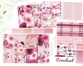 FUSCHIA FALL | 6 Page Sticker Kit | PREORDER | ECLPVertical