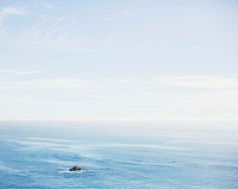 Overlooking the Pacific Ocean - Fine Art Photograph, Sea, Travel Photography, Wall Art, Room Decor, California