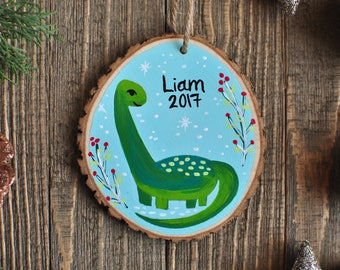 Personalized Gifts for Kids, Dinosaur Ornament, Name Ornament Christmas, Custom Baby Ornament, Boy Ornaments, Christmas gifts for baby boy