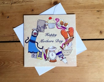 Baking Mothers Day Card
