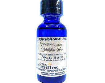 Dragons Blood 1oz / 29.5ml Blue Glass Bottle of Skin Safe Fragrance Oil