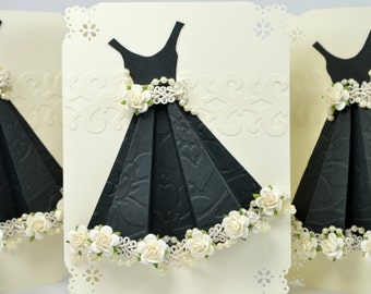 Dress Bridesmaid Cards