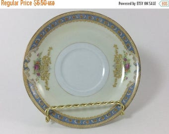 Sale Vintage Jyoto China Made in Occupied Japan Saucer Plate Ring Dish Jewelry Holder Trinket Dish Ring Holder