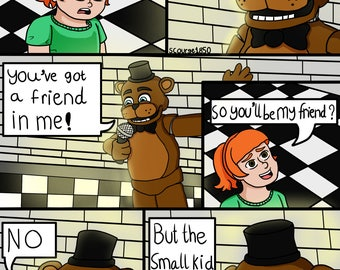 You've got a friend in me! - Five Nights at Freddy's