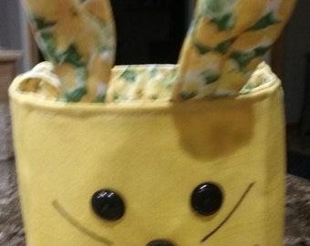 Easter Basket/ Bunny Yellow