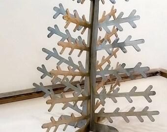 RAW Metal 3D Christmas tree centerpiece