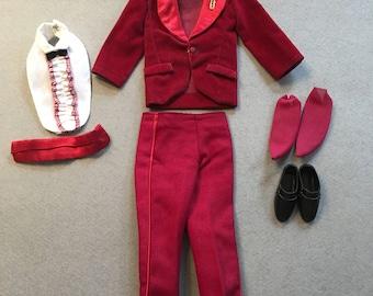 Vintage Ken/Mattel Night Scene 1496