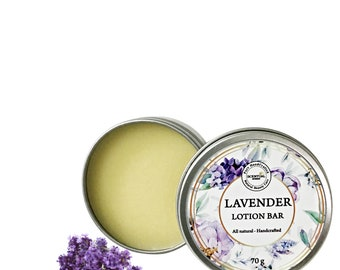 Lavender Lotion Bar, Lotion Bar for Dry Skin, Gift Idea
