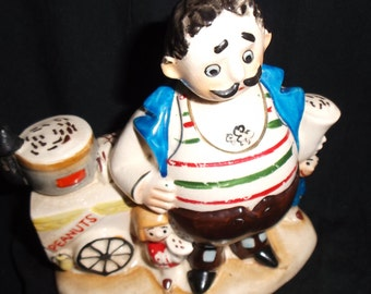 Vintage Japan Street Vendor Figurine