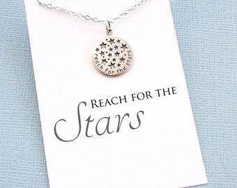 Graduation Gift | Inspirational Star Necklace, Class of 2018 Graduation Gift for Her, College Student Gift, Medical Student Gift | G08
