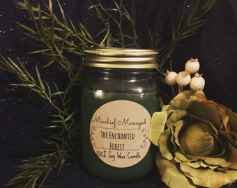 The Enchanted Forest soy candle