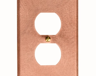 Solid Copper Switch Plate Covers