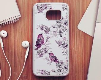 Bird Pattern Case For Samsung Galaxy S8, Bird Pattern  Case For Samsung Galaxy S7, Bird Pattern Case For Samsung Galaxy S6, Case