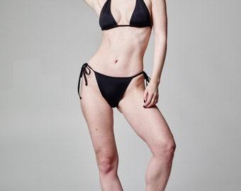 Brazilian Bikini Bottoms, Plus Size Panties, Bathing Suit Bikini, Black Bikini Bottom, Swimsuit Bottoms, Black Hot Bikini, Beach Swimsuit