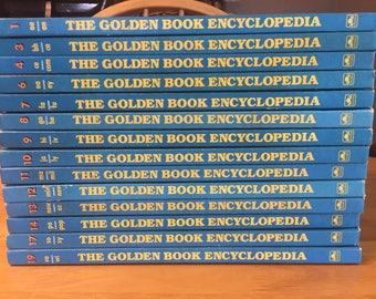 The Golden Book Encyclopedia collection