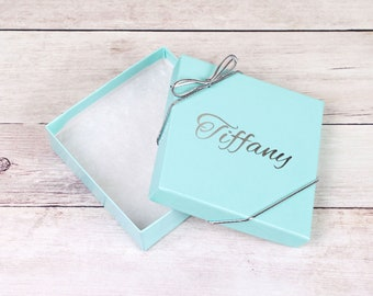 Teal Bridesmaid Gift Box, Personalized Gift Box, Keepsake Box, Bridesmaid Box, Small Gift Boxes, Bridesmaid Proposal Teal Gift Box for Women
