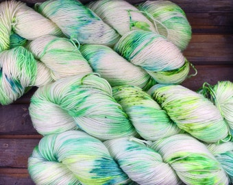 What The Fork - Sock Yarn - Merino / Nylon - Hand Dyed -  100g