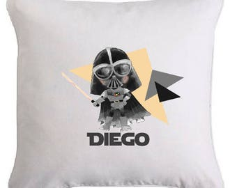 """Personalized """"Darth Vader"""" removable pillow"""