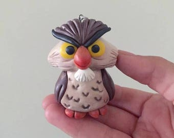 Sword in the Stone Archimedes Owl Disney Christmas Ornament