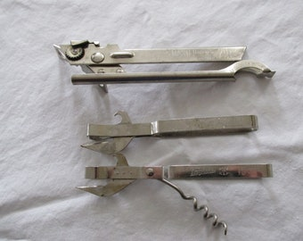 Vintage Bottle Can Openers