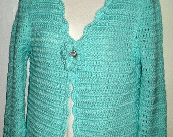 2x -5x Sweaters, Sweater, Cardigans,Cardigan Sweater, Womens Sweaters, Girls Sweaters, Clothing,Fashions, Teal, Crochet, Cotton