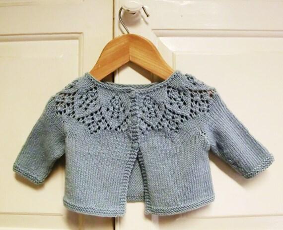 Baby Girl Knitting Pattern, Newborn, Knitting Pattern, Meredith Baby ...