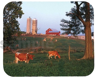 Mouse Pad; Dairy Farm