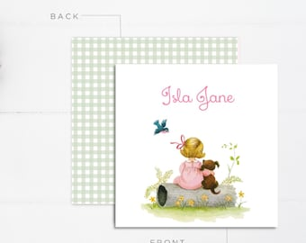 Girls Calling Cards | Kids Calling Cards | Kids Gift Tags | Mommy Calling Cards | Playdate Cards | Mommy Cards | Personalized Gift Tags