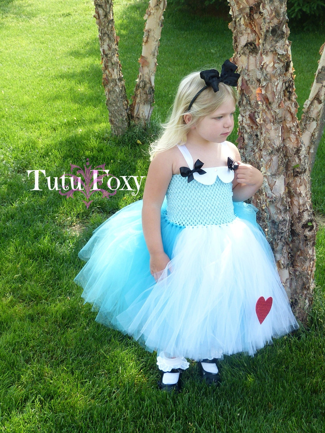 Alice in Wonderland Tutu Dress Alice Tutu Dress Alice in