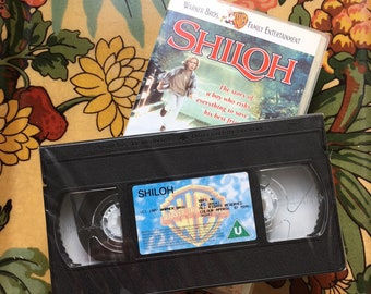 Shiloh 1996 VHS Video Tape (New Sealed 90s Family Beagle Movie)