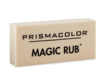 Prismacolor Premier Magic Rub Vinyl Erasers, 3-pack; Premium Art Vinyl Eraser