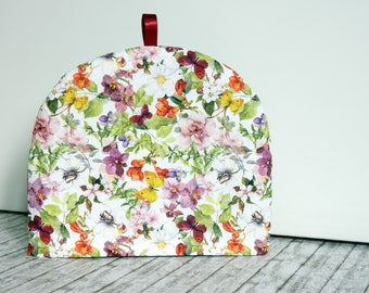 Tea cozy - Handmade Padded Teapot cover- Handmade tea warmer - Tea cosy - Padded tea pot cover - Gift for Tea lovers