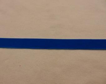 Venetian Blue Velvet Ribbon, width 16 mm (Ve-197)