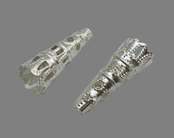 X 50 silver cone 22mm