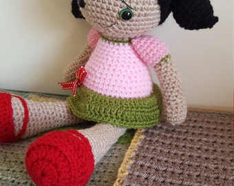 Sweet Susie crocheted doll