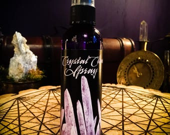 Crystal Clear Spray ~ Witchcraft ~ Wiccan ~ Spell ~ Craft ~ Ritual Spray - Altar - Wiccan