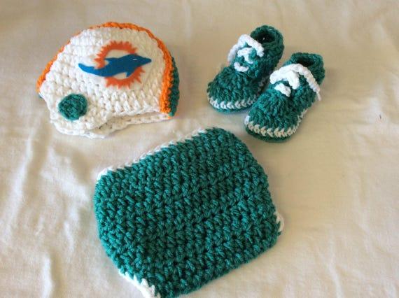 Miami Dolphins Mohawk Hat Crochet Patterns