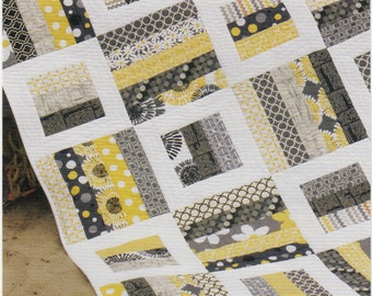 PATTERN:  RADIO WAY by Jay Bird Quilts - Jelly Roll Friendly