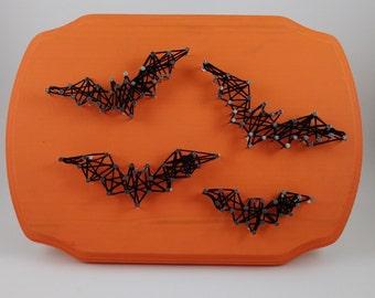 Bats string art