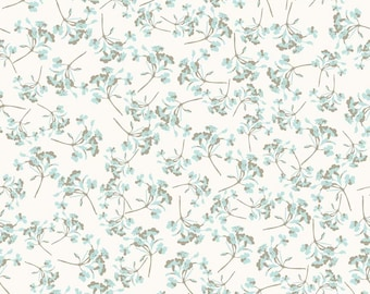 Kensington Floral Cream by Emily Taylor Designs for Riley Blake, 1/2 yard