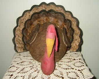 Primitive Turkey Centerpiece~Table Sitter~Large!