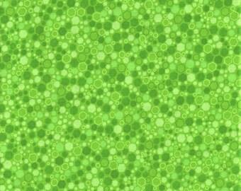 RJR Fabrics Basically Patrick 2034 5 Lime Hexagons By The Yard