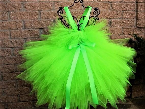 Neon Green Dress