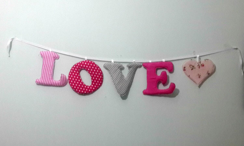 Baby Namen Banner Kinderzimmer Wand Buchstaben