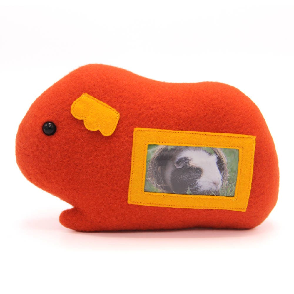 Guinea pig plush picture frame cavy photo frame guinea pig zoom jeuxipadfo Gallery