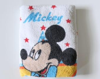 Rare, Vintage Mickey Mouse Beach Towel - Kids Towel